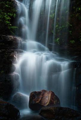 Zen Rocks Photograph - Edith Falls by Yan Zhang