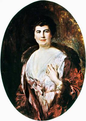 Democrat Painting - Edith Wilson (1872-1961) by Granger