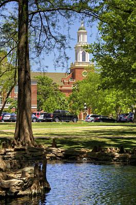 Oklahoma State University Photograph - Edmon Low Library by Ricky Barnard
