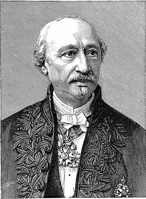 Edmond Becquerel Art Print by Universal History Archive/uig