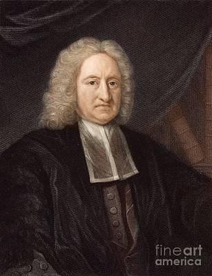 Periodicity Photograph - Edmond Halley, Astronomer, 1736 by Paul D. Stewart