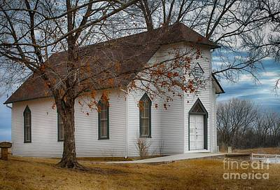 Photograph - Edmonds Chapel 1891 by Liane Wright