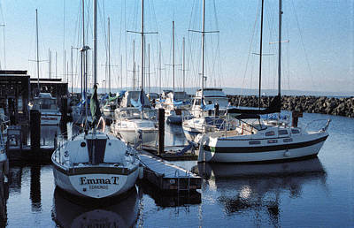 Photograph - Edmonds Yacht Club by Robert Meyers-Lussier