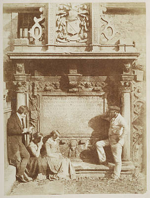 Edmonstone's Tomb Print by British Library