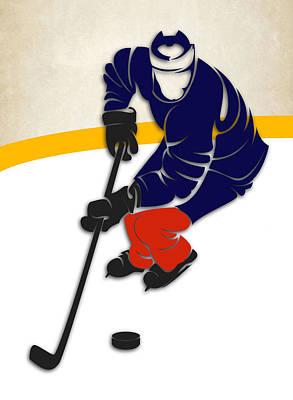 Edmonton Oilers Rink Art Print