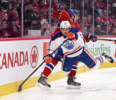 Photograph - Edmonton Oilers V Montreal Canadiens by Francois Lacasse