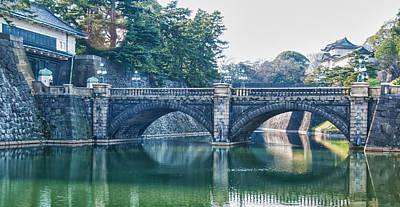 Photograph - Edo Castle And Nijubashi Bridge by Guy Whiteley