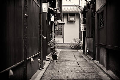 Photograph - Edo Walkway by Brad Brizek