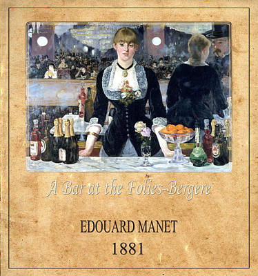 Photograph - Edouard Manet 1 by Andrew Fare