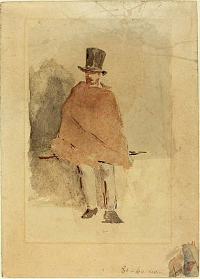 Edouard Manet French, 1832 - 1883, The Man In The Tall Hat Art Print by Quint Lox