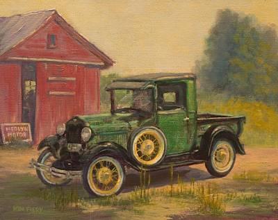 Painting - Ed's Pride by Ken Fiery