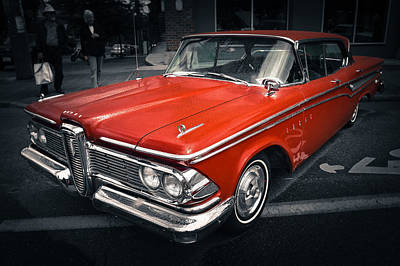 Photograph - Edsel Red by Ronda Broatch