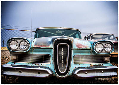 Photograph - Edsel Ruiner by Terry Rowe