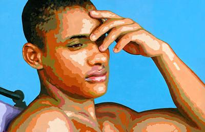 Eduardo Na Luz Original by Douglas Simonson