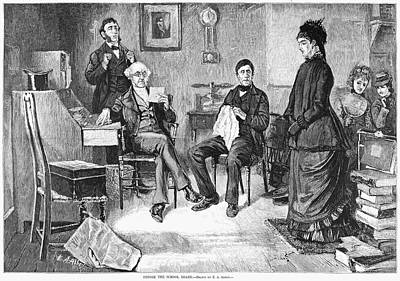 Education Painting - Education, 1877 by Granger