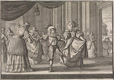 Education Of Balthazar Charles, The Eldest Son Of King Art Print
