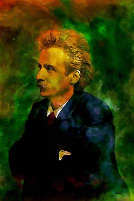 Edvard Grieg Art Print