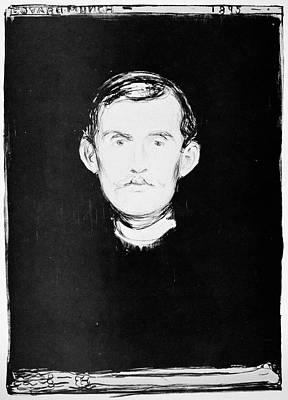 Edward Munch Painting - Edvard Munch (1863-1944) by Granger