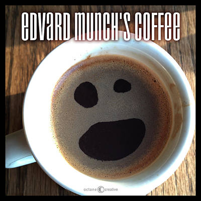 Edvard Munch Digital Art - Edvard Munchs Coffee by Tim Nyberg