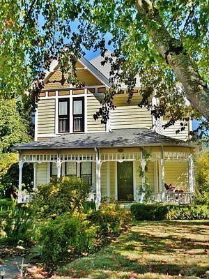 Photograph - Edward Adams House by VLee Watson