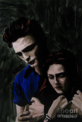 Edward And Bella Art Print by Betta Artusi