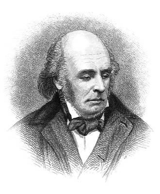 Edward Fitzgerald (1809-1883) Art Print by Granger