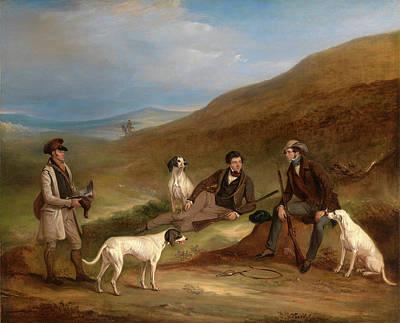 Edward Horner Reynard And His Brother George Art Print