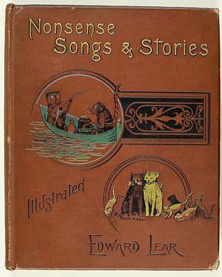 Verse Photograph - Edward Lear's Nonsense Songs And Stories by British Library