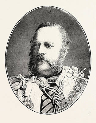 Nugent Drawing - Edward Nugent Leeson, Sixth Earl. Of Milltown Born October 9 by English School
