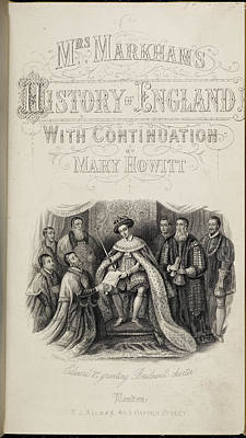 Elizabeth Edwards Photograph - Edward Vi Granting Charter To Hospitals by British Library