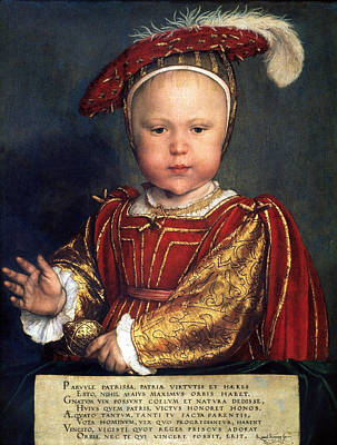 Painting - Edward Vi Of England (1537-1553) by Granger