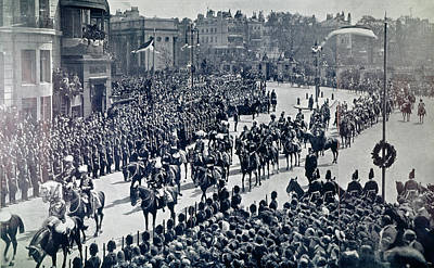 Photograph - Edward Vii Funeral, 1910 by Granger
