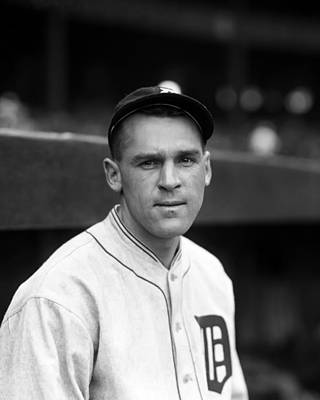 Detroit Tigers Photograph - Edwin L. Wells by Retro Images Archive