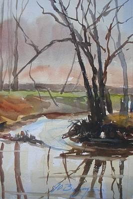 Eel River Blues Art Print