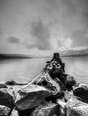 Fallen Leaf Lake Photograph - Eerie by Michael Breshears