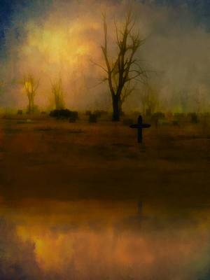 Eerie Mixed Media - Eerie Reflection by Gothicrow Images