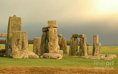 Photograph - Eerie Stonehenge 2 by Deborah Smolinske