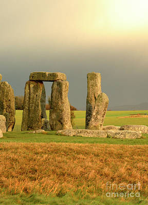 Photograph - Eerie Stonehenge 3 by Deborah Smolinske