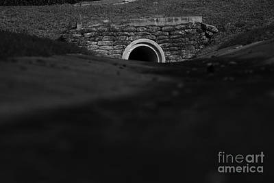 Eerie Tunnel Art Print