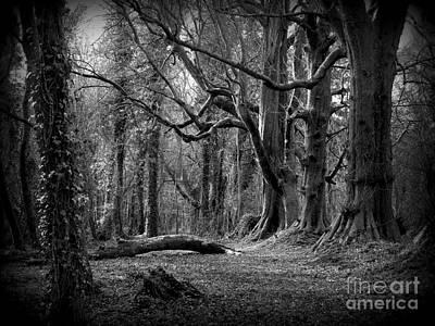 Eerie Woods Original by Frances Hodgkins