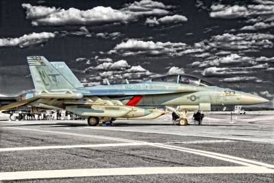 Whidbey Island Wa Photograph - Ef-18 Growler by Dan Quam
