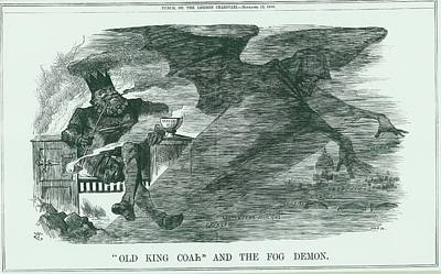 King John Wall Art - Photograph - Effects Of Burning Coal On London by Universal History Archive/uig