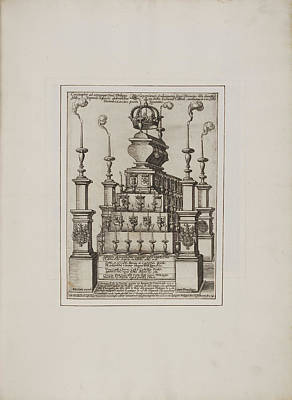 Effigy And Statue Art Print by British Library