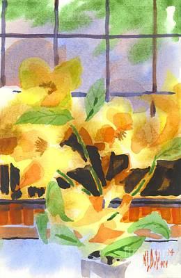 Efflorescent Magnolias Dramatic Original by Kip DeVore