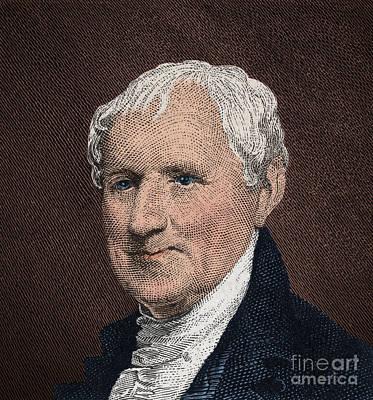 Egbert Benson, American Patriot Art Print by Photo Researchers