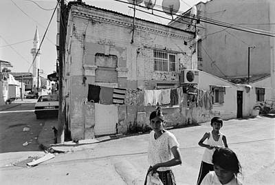 Ege Neighborhood In Izmir In Turkey Print by Ilker Goksen