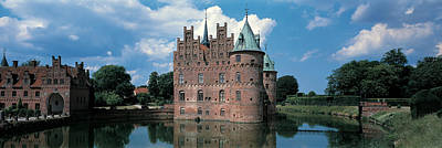 Castle Photograph - Egeskov Castle Odense Denmark by Panoramic Images