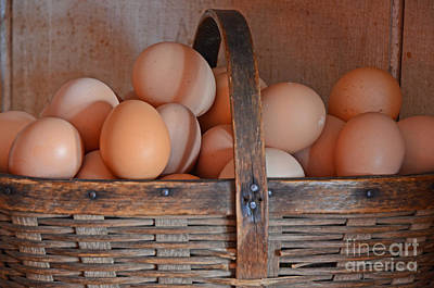 Photograph - Egg Basket by Mary Carol Story