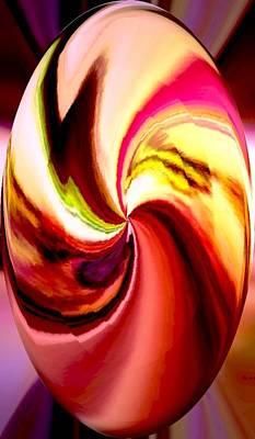 Digital Art - Egg For Gabbs by Marian Hebert