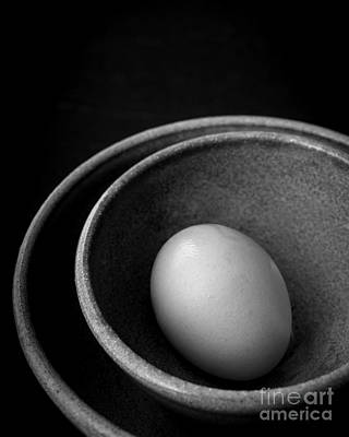 Photograph - Egg Open Edition by Edward Fielding
